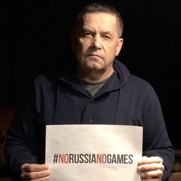 """Солист группы """"Любэ"""" Николай Расторгуев."""