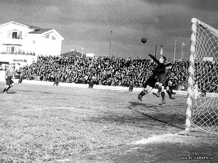 Один из матчей 1948 года
