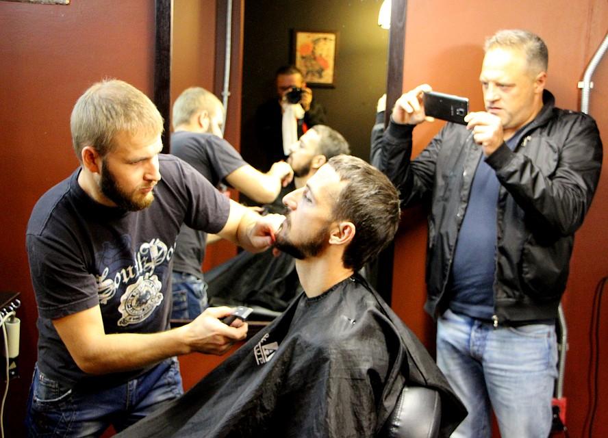 Юрий Малышев: В Судаке теперь мода на бороды. Фото: Александр КИРЬЯКОВ