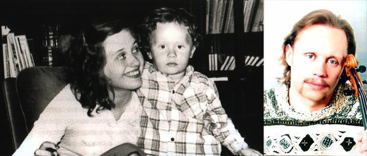 Марина Мулявина считает брата Володю своим первым ребенком – на нее легло немало забот о Мулечке, как его называли домашние. Фото: личный архив