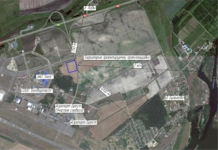 Ближайшая деревня находится в 750 метрах от завода.