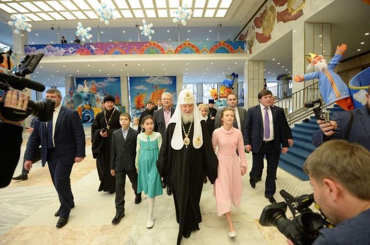 Встреча с Патриархом Кириллом. Фото пресс-служба Святейшего Патриарха Московского и всея Руси