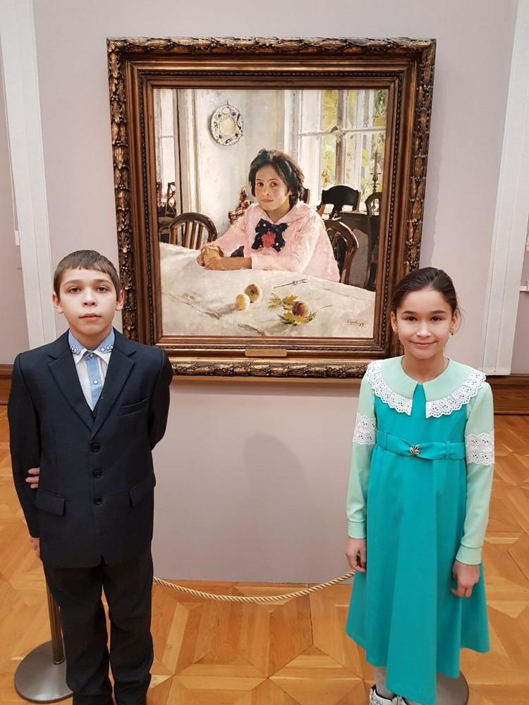 Юные амурчане побывали в Третьяковской галерее. Фото: личный архив семьи Васильевых