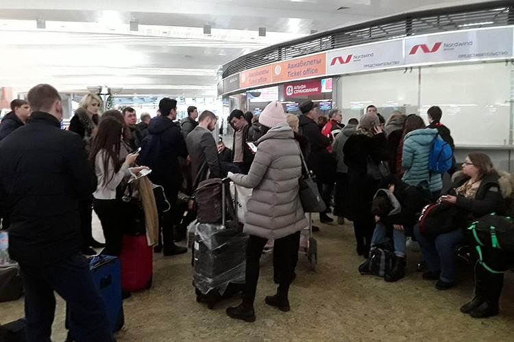 По последним данным, на 5 февраля в Шереметьево отменено более 43 рейсов