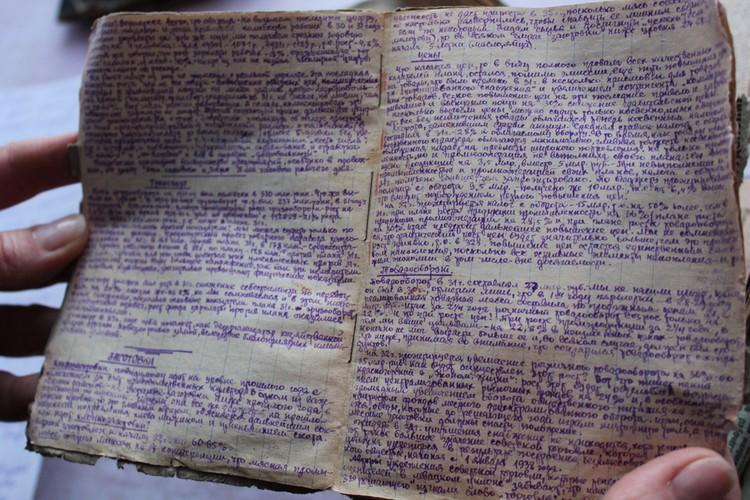 В некоторых брошюрах почерк сложно разобрать - автор экономил бумагу, писал убористо