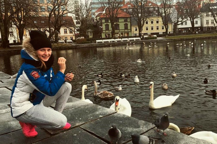 Наталья Воронина вполне может побороться за медали в Пхенчхане 2018.