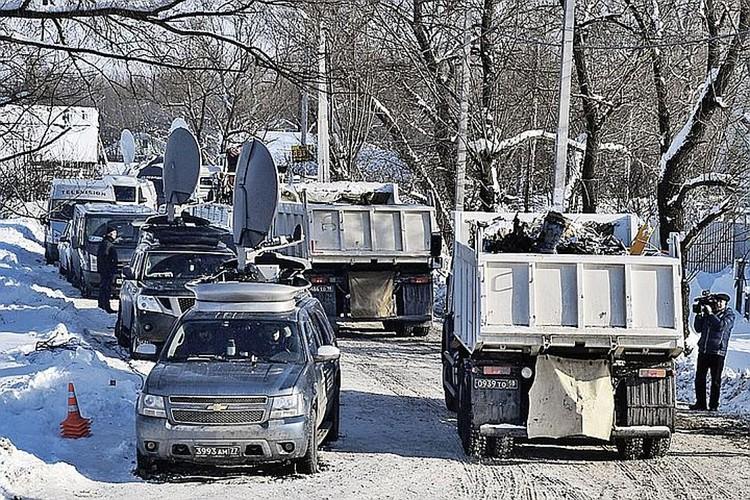 С места трагедии вывезли более 700 обломков. Фото: Михаил ВОСКРЕСЕНСКИЙ/РИА Новости