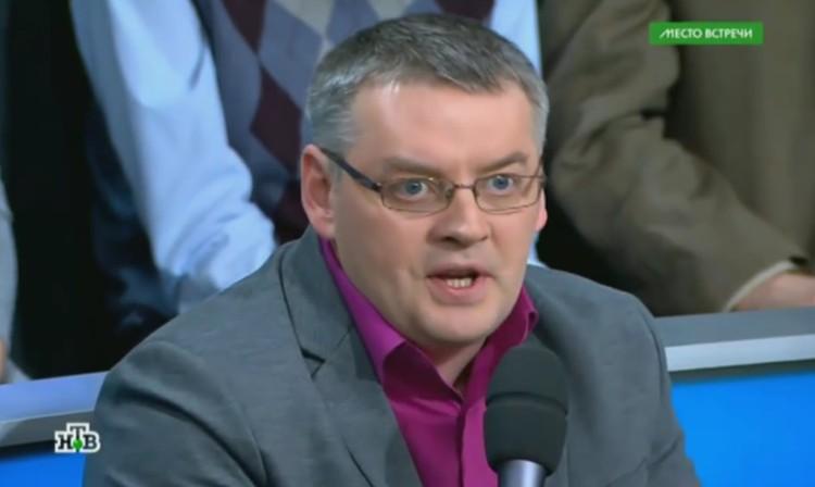 Украинский политолог Дмитрий Суворов.