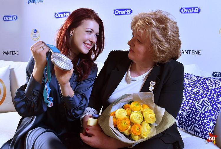 Екатерина Боброва с мамой
