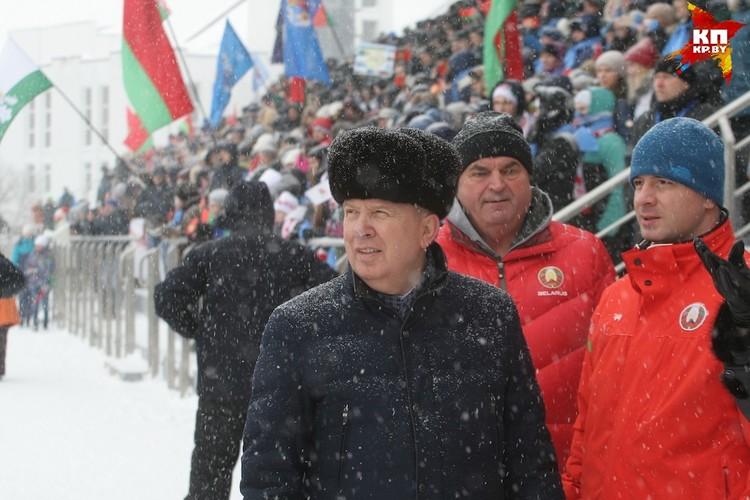 Сначала Василий Жарко был в цивильном.