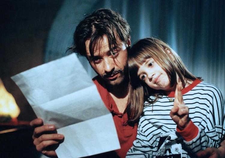 Полина с папой Яном Лиферсом вместе снялись в немецкой комедии «Я – босс», когда девочке было 7 лет