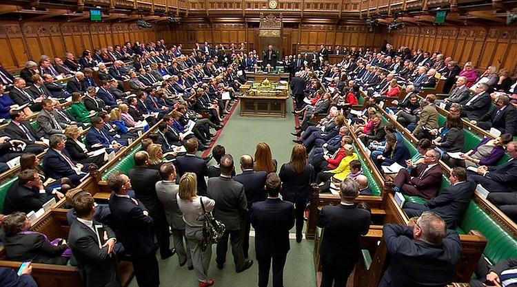 Потом на заседании парламента начался настоящий паноптикум