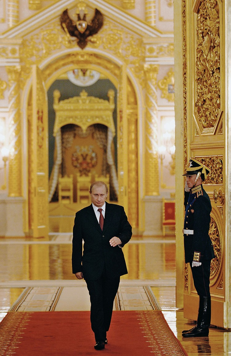 Владимир Путин на выборах-2004 набрал 71,31% голосов