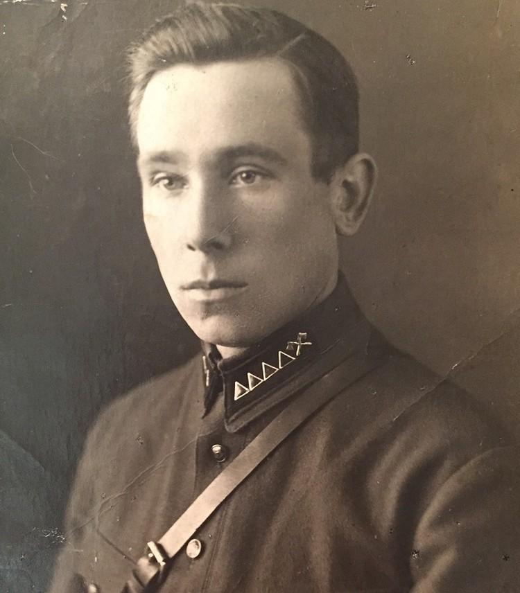 Степан Грико в 1941 году.