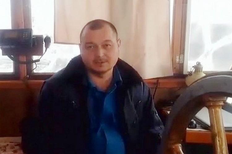 Капитан судна Владимир Горбенко