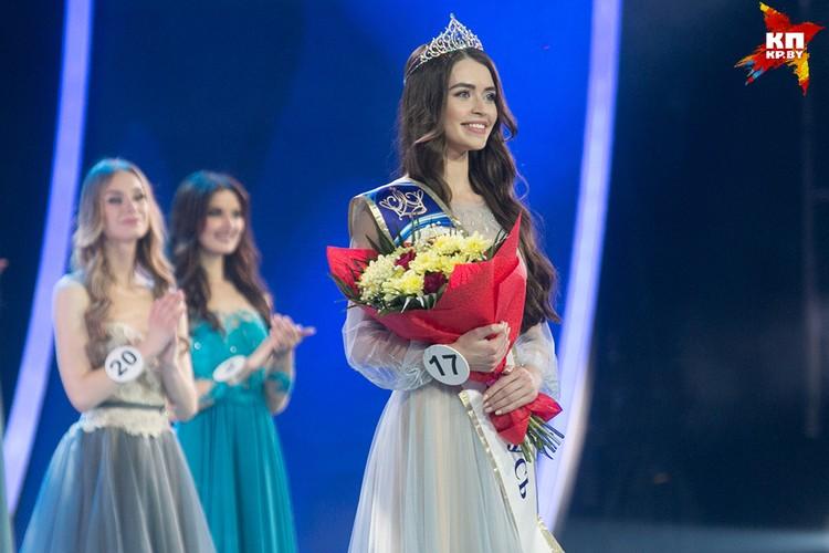 Маша Василевич будет представлять нашу страну на конкурсе «Мисс Мира».