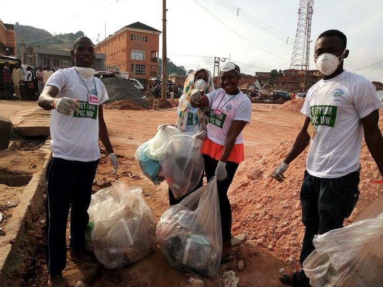 Участникам удалось собрать 110 мешков с отходами