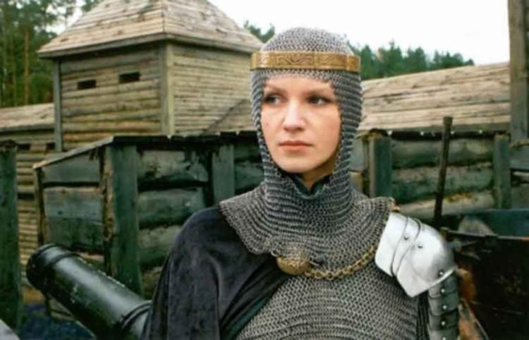 Актриса сыграла в 2003 году Анастасию Слуцкую в одноименном фильме. Фото: кадр из фильма
