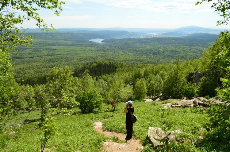 Таганай - это горные хребты и тайга возле Златоуста. Фото: Лариса ЩЕПЕТОВА