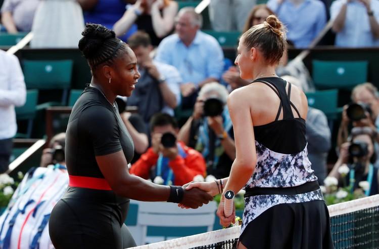 В первой игре в Париже американка победила Кристину Плишкову.