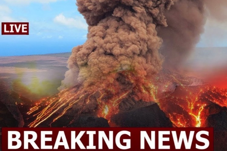 Извержение вулкана Килауэа не прекращается.