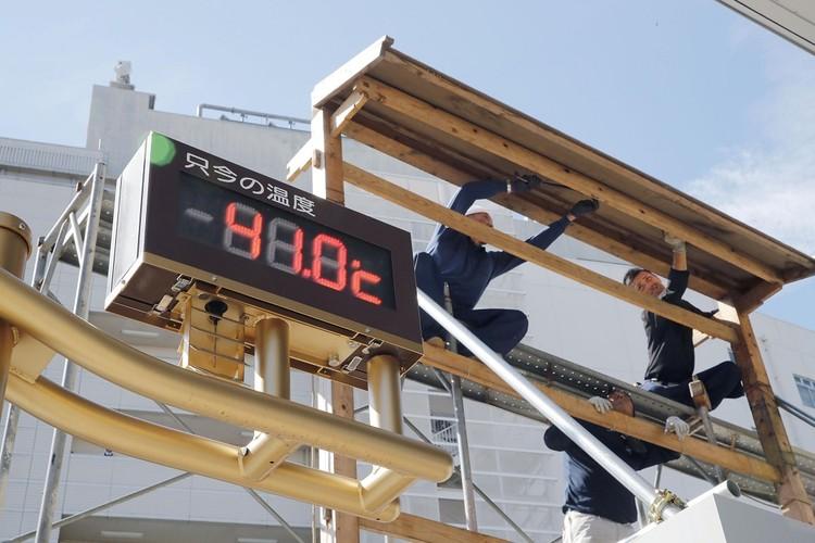 Температура воздуха в Японии достигает 41 градуса по Цельсию и даже выше