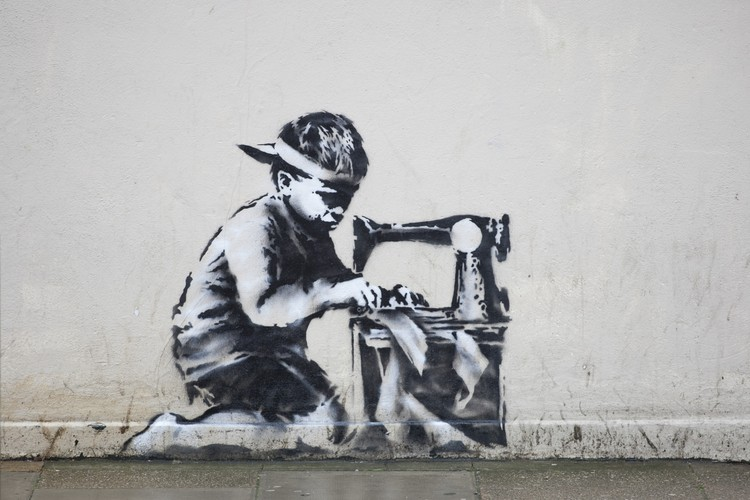 Его творчество известно благодаря его граффити,