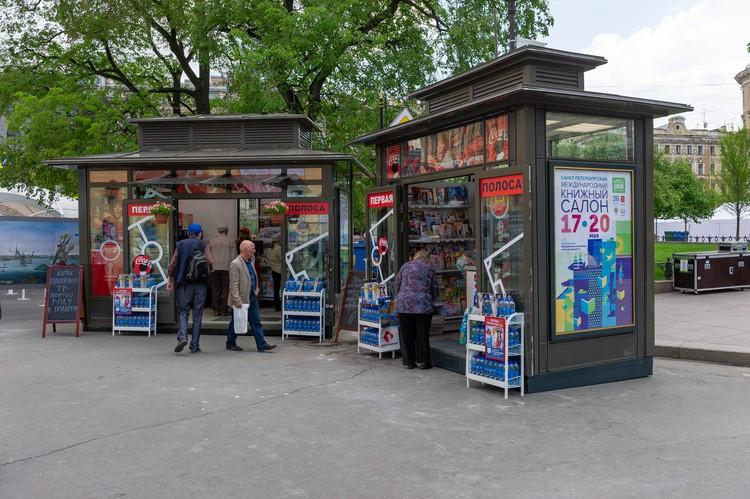 Новые павильоны стали звездами Книжного салона