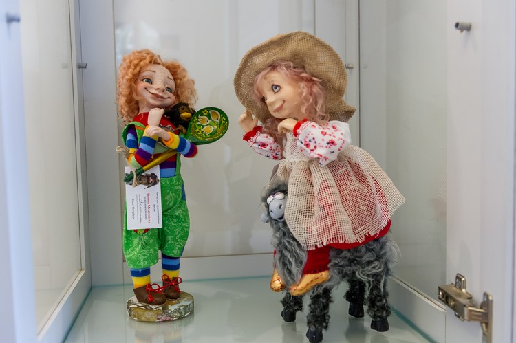 Антошка - любимая кукла супруга Ирины Александра