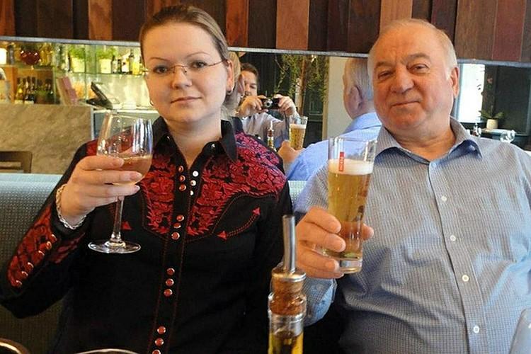 Юлия прилетала в Лондон, чтобы попросить благословения отца на свою свадьбу