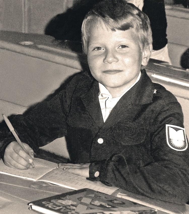 Коля подрабатывал в ресторане тайком от родителей. Фото: Личный архив