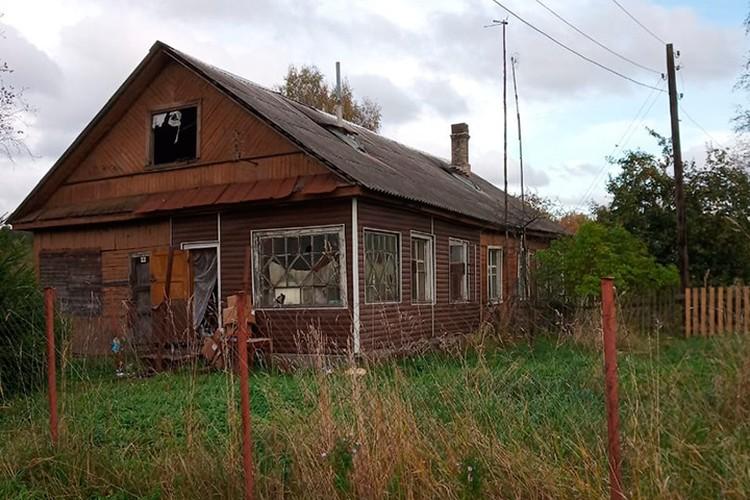 В этом доме произошло убийство Фото: СУ СКР по Ленобласти