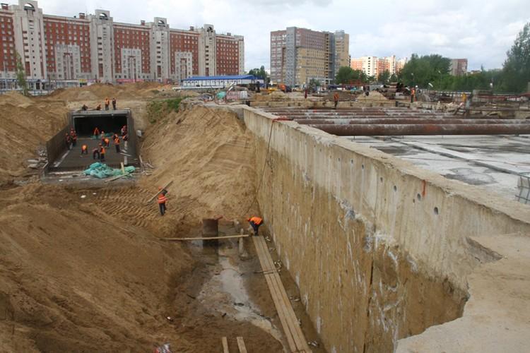 При строительстве метро в Нижнем Новгороде будет перекрыта улица Родионова
