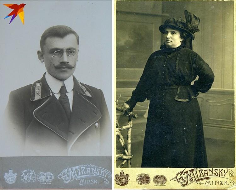 Ателье Миранского размещала на своих карточках все регалии фотографа.