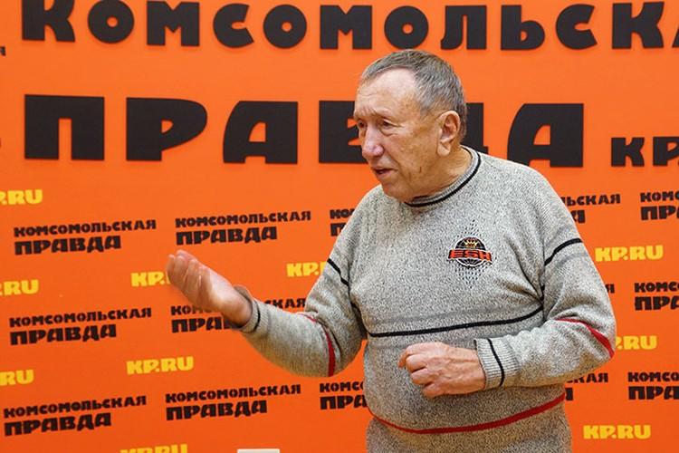 Борис Кейльман, президент Грушинского клуба.