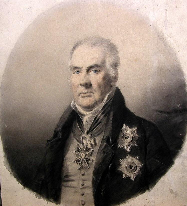 Александр Молинари: портрет неизвестного вельможи.