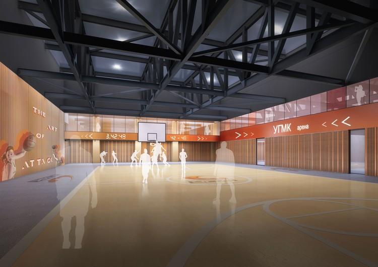 На арене можно будет проводить соревнования по 11 видам спорта. Фото: УГМК