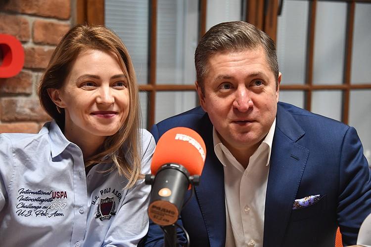 Впервые супруги дали вместе большое и откровенное интервью на Радио «КП»