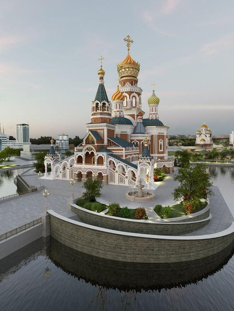 Так мог выглядеть Храм-на-Воде. Фото: Минстрой Свердловской области