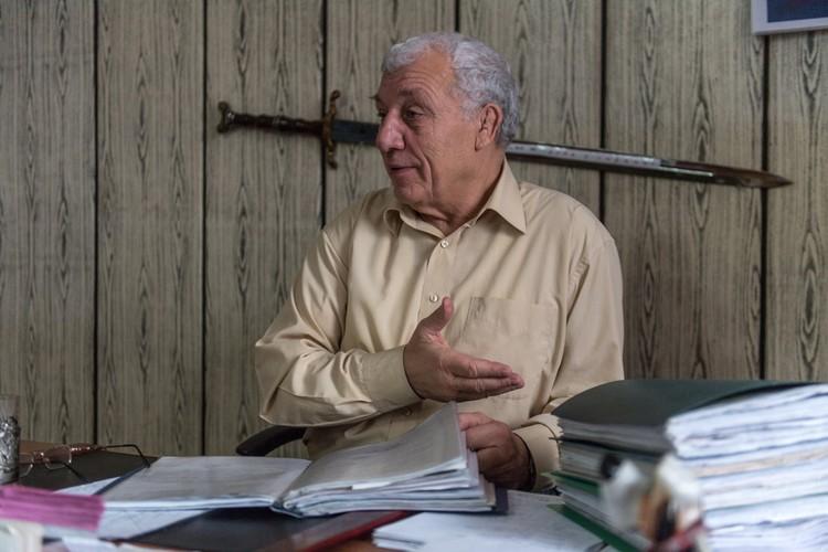 Руководитель еще советского флагмана лесной промышленности «Карабулалес» Александр Хуршудьян
