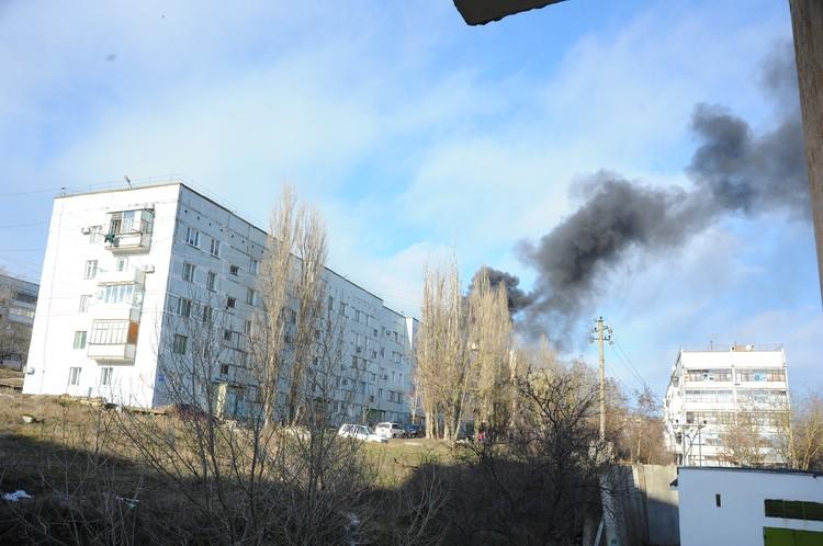 Причиной взрыва газовых баллонов стало нарушение правил пожарной безопасности. Фото: Роман Кушнир.