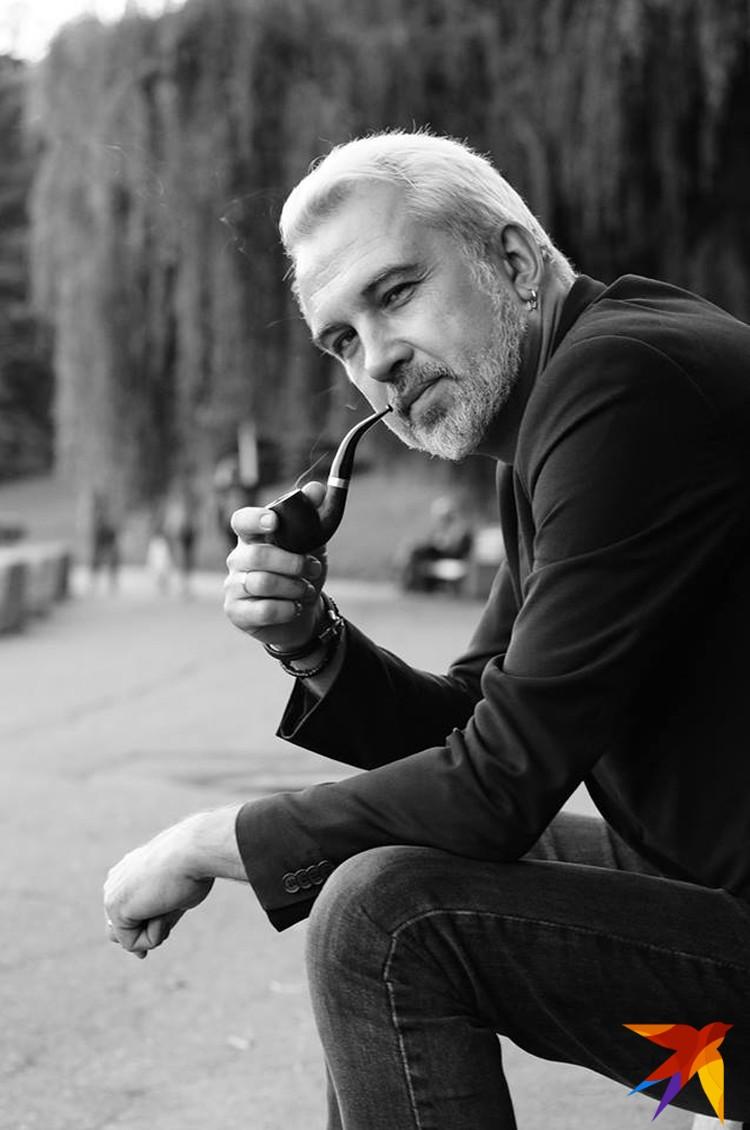 Бахаревич за одно поколение стал одним из самых авторитетных белорусских писателей. Фото: Юля ТИМОФЕЕВА