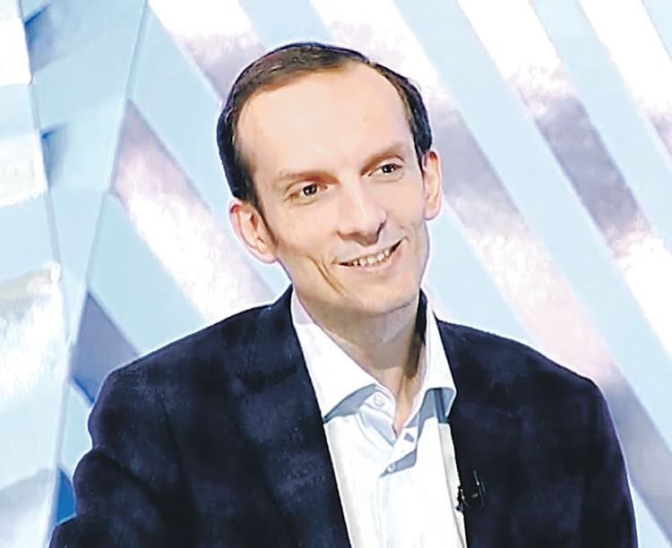 Директор «Союзмультфильма» Борис Машковцев. Фото: Москва 24