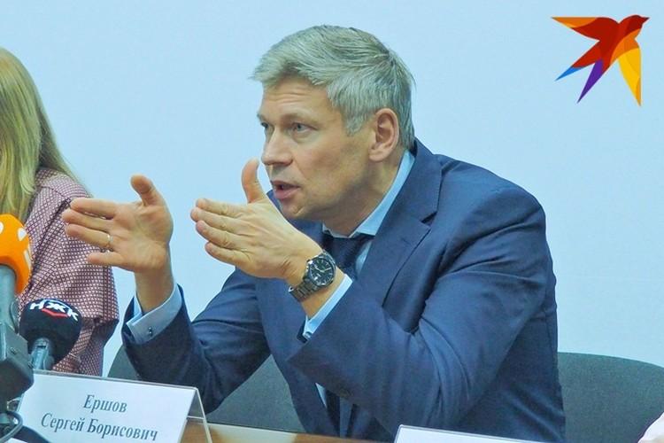 Сергей Ершов рассказал, почему экспонаты нельзя оставить в здании на время реконструкции.