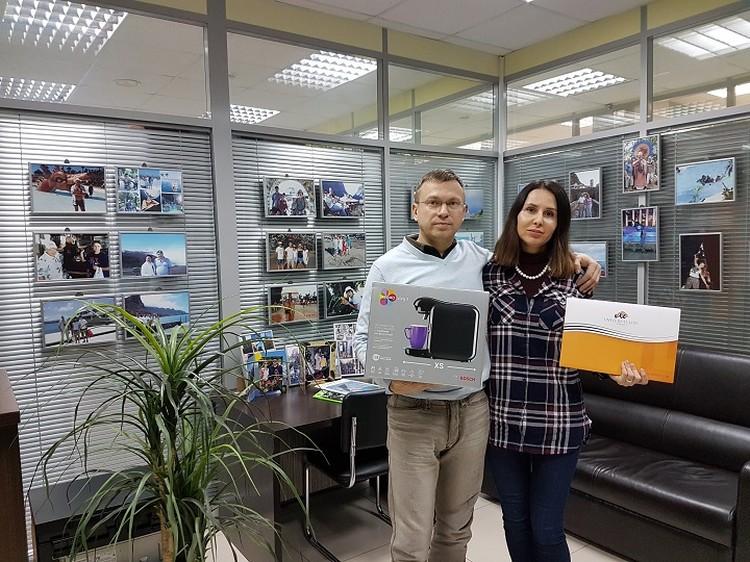 Новые клиенты компании Анна и Сергей Грошевы из Ижевска.