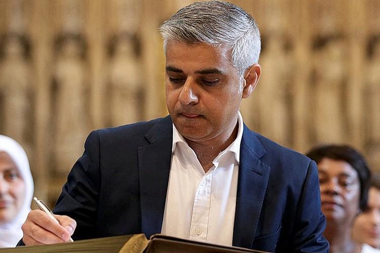 Мэр Лондона - Садик Хан