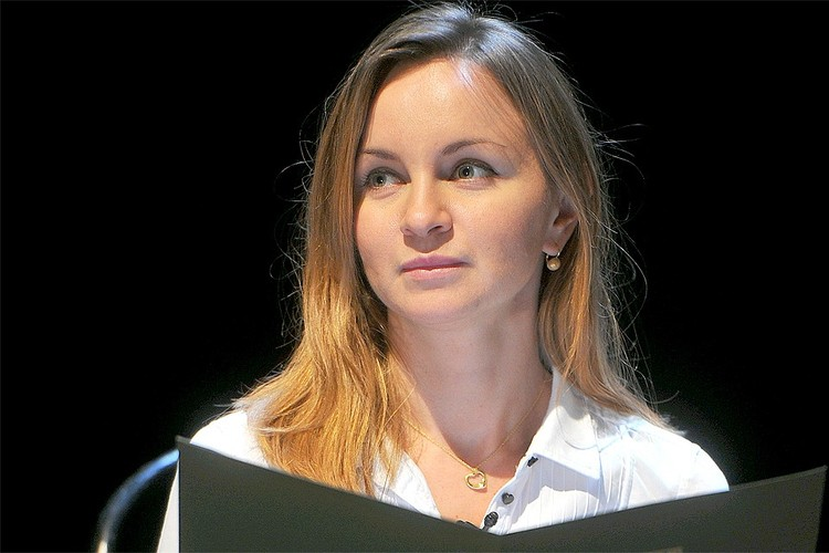 Актриса Ольга Литвинова