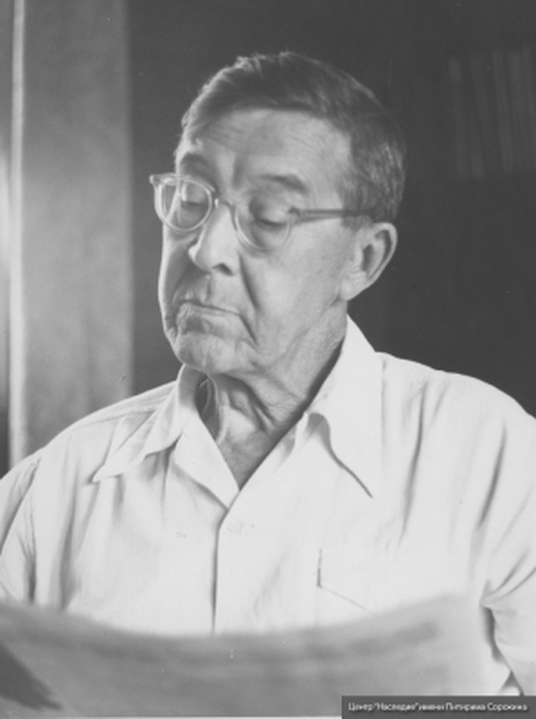 Питирим Сорокин в 1960 годы