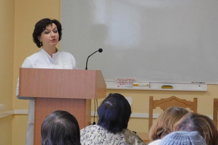 Врач-диетолог Оксана Галкина. Фото предоставлено Алтайским онкологическим центром «Надежда»