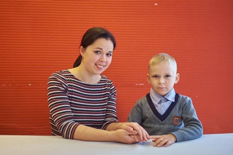 """Миша знает, что Наталья Кельсина стала донором для него Фото: предоставлено """"Русфондом"""""""